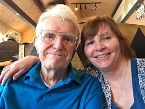 RIP Bob, amy hall's dad