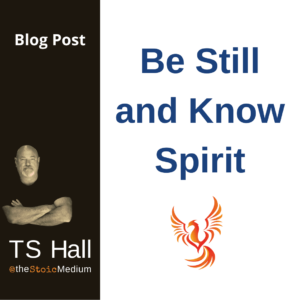 spirit shorts with ts hall the stoic medium - be still and know spirit