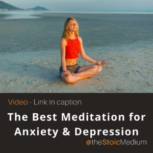 the best meditation for anxiety depression and stress relief is stillness meditation technique
