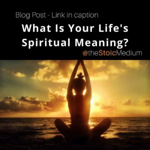 life's spiritual meaning with spiritual teacher ts hall the stoic medium