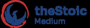 ts hall the stoic medium logo